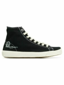 Maison Margiela Tabi hi-top trainers - Black
