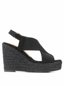 Castañer high wedge sandals - Black