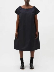 Fendi - Mania Logo-print Silk Blouse - Womens - White Multi