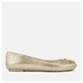 Vivienne Westwood for Melissa Women's Space Love 21 Ballet Flats - Gold Glitter Orb