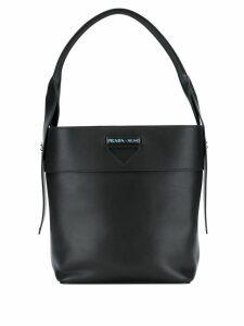Prada classic shoulder bag - Black