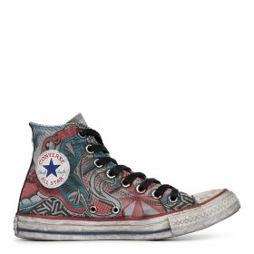 Chuck Taylor All Star Snake Tattoo High Top