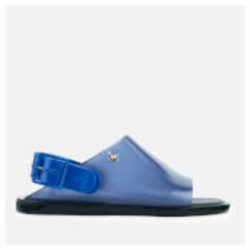 Vivienne Westwood for Melissa Women's Twist Flat Sandals - Blue Contrast - UK 4 - Blue