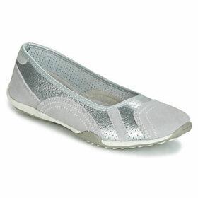 Spot on  F8991  women's Shoes (Pumps / Ballerinas) in Grey