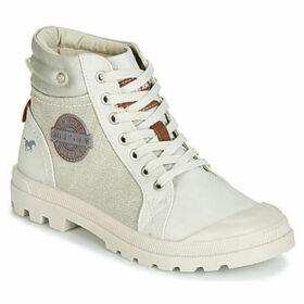 Mustang  1160506-205  women's Mid Boots in White