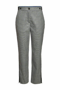 Rag & Bone Checked Pants with Wool