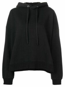 Maison Margiela rear print hoodie - Black
