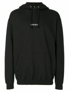 F.A.M.T. Unfollow hoodie - Black