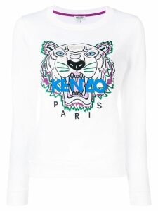 Kenzo tiger logo sweatshirt - White