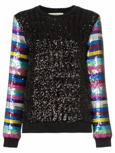Mary Katrantzou Magpie sequin-embellished sweater - Black