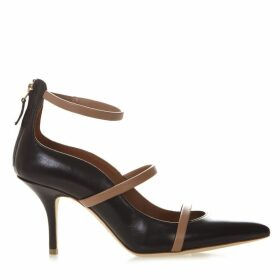 Malone Souliers Robyn Black Leather Pumps