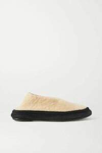 CASASOLA - Pleated Wool, Silk And Linen-blend Shorts - Blush