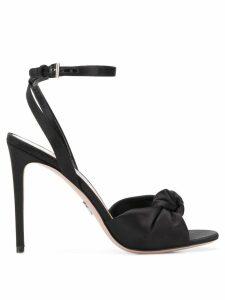 Prada knot front stiletto sandals - Black