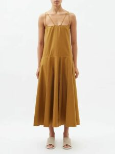 Gucci - Gg Logo Zip-through Wool Sweater - Womens - Navy Multi