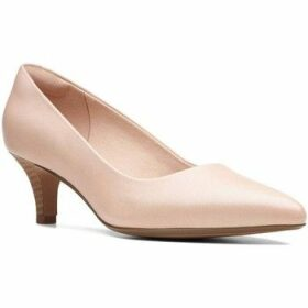 Clarks  Linvale Jerica Womens Wide Fit Dress Court Shoes  women's Court Shoes in Pink