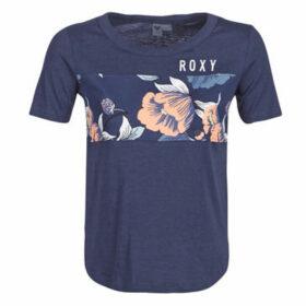 Roxy  BELONG TO THE WORLD SS TEE C  women's T shirt in Blue