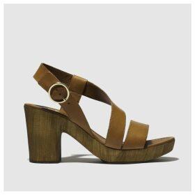 Schuh Tan Missouri Low Heels