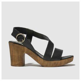 Schuh Black Missouri Low Heels
