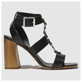 Schuh Black Cassie Low Heels
