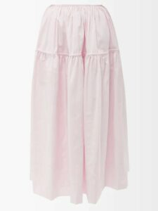 Gucci - Gg-jacquard Cotton Cardigan - Womens - Navy Multi
