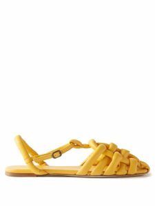 Ann Demeulemeester - Floral Embroidered Cotton Voile Blouse - Womens - Black