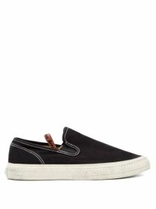 Raf Simons - Draped Panel Fairisle Lamé Sweater - Womens - Green Multi