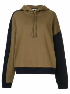 CAMILLA AND MARC Kyra blocked hoodie - Brown