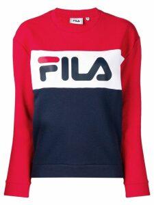 Fila logo print sweatshirt - Blue