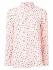 Saint Laurent stars print shirt - PINK