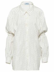Prada Pongé shirt - White