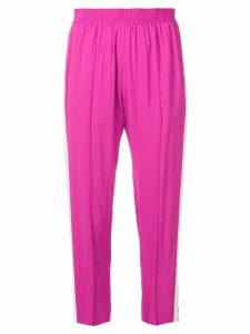 Twin-Set elasticated waist trousers - Pink