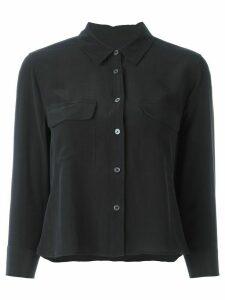 Equipment flap chest pockets shirt - Black