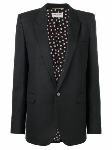 Saint Laurent single button blazer - Black