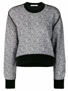 Givenchy 4G knitted allover sweatshirt - Black