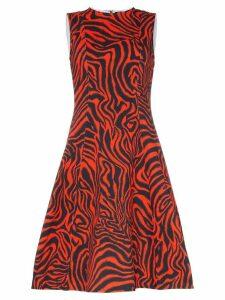 Calvin Klein 205W39nyc Sleeveless Printed Midi-Dress - Red