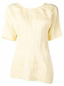 Jil Sander asymmetric T-shirt - NEUTRALS