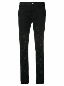 Stella McCartney star-print skinny jeans - Black
