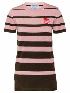 Prada striped top - PINK