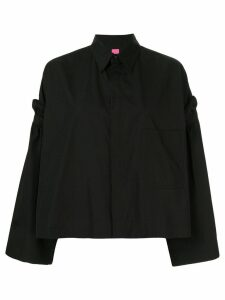 Y's removable sleeve shirt - Black