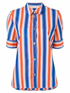 Marni striped shirt - Blue
