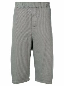Société Anonyme striped Bonsergent shorts - Black
