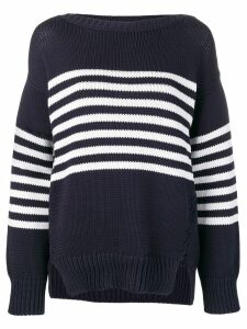 P.A.R.O.S.H. striped knit jumper - Blue