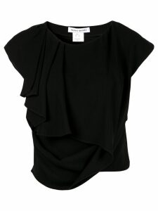 Bianca Spender asymmetric T-shirt - Black
