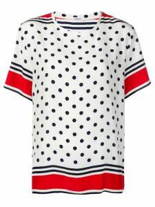 P.A.R.O.S.H. polka dot T-shirt - White