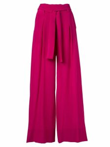 Petar Petrov high-waisted belted trousers - Pink