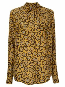 Christian Wijnants loose-fit printed shirt - Brown