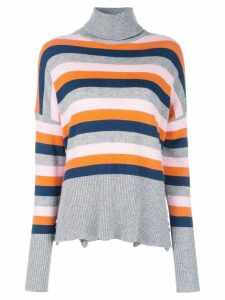 Cinq A Sept Layla striped turtleneck jumper - Multicolour