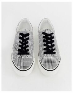 ASOS DESIGN Diffuse lace up trainers-Multi