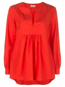 Co V-neck blouse - Red