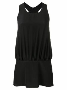 Aspesi silk tank top - Black